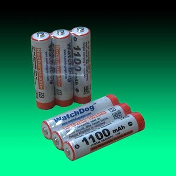 Picture of Rechargeable NiMH Battery for USAlert WatchDog LT Pager (3-Pack)