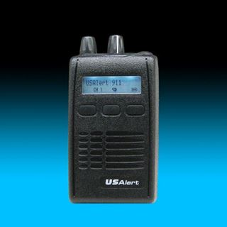 Picture of USAlert WatchDog 2-Channel w/Stored Voice Pager - Refurbished